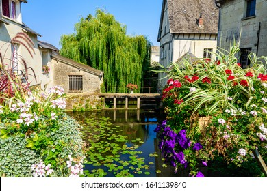 landscaped streets with the old typical houses - Shutterstock ID 1641139840