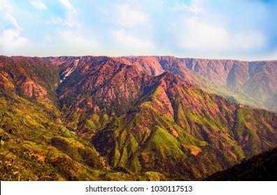 Landscape,East Khasi hills, Meghalaya