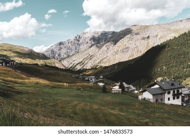 Landscapes of the Alps from near Livigno