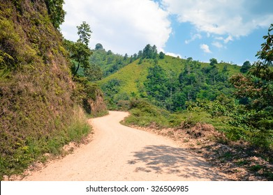 Landscapes around the highlands of Taulabe and Cerro Azul national park near Lake de Yojoa, Western Honduras. Travel in Central America