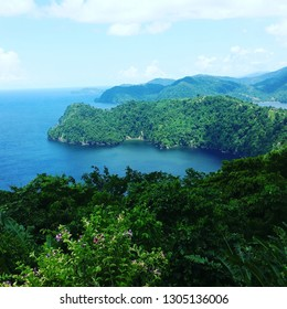 landscapes by maracas bay Trinidad.