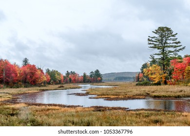 Landscapes, colors, reflections and sea views, around the New England Atlantic coast states.