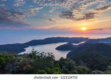 Landscapes image of beautiful island Mljet in Croatia
