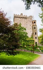 Landscapes of Ireland. Blarney castle, near Cork