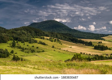 Landscapes of the Low Beskids in Poland  - Shutterstock ID 1883830687