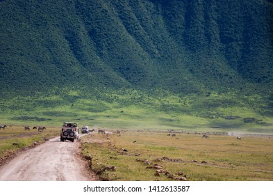 Landscapes of the Ngorongoro crater, Ngorongoro national park