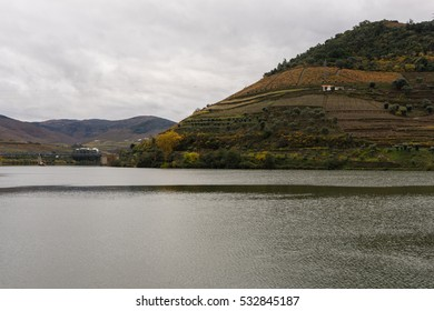 Landscapes of Pinhao, Portugal.