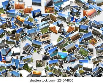 landscapes postcards