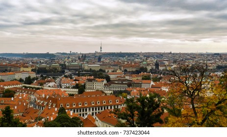 landscapes of Prague. Background