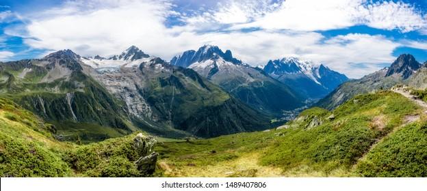 Landscapes Tour du Mont Blanc