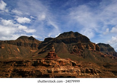 Landscapes of Utah State near Zion Canyon. USA