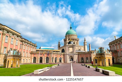 The Landtag or the parliament of the state of Brandenburg in Potsdam, Germany