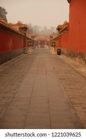 Lane at the forbidden city