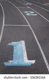 Lane One - Running Track