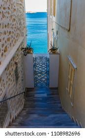Lane at Syros Island