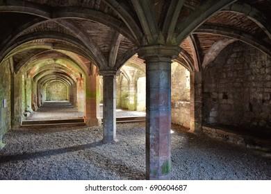 Lanercost Priory Undercroft