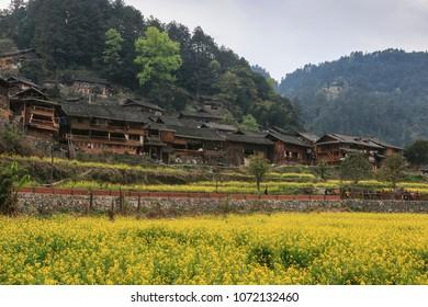 Langde Miao village, Guizhou province, China