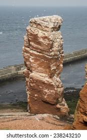 Lange Anna rock at Heligoland Island (Germany)