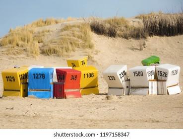 LANGEOOG BEACH CHAIRS