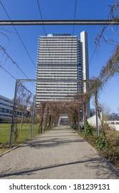langer eugen and un campus in bonn germany