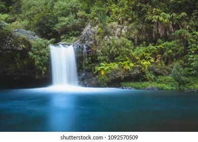 Langevin Waterfall in Reunion island