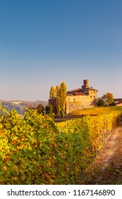 Langhe in Autumn, Piedmont, Italy