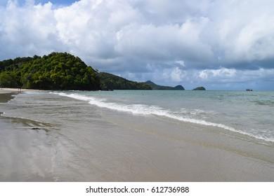Langkawi island beach. Jewel of Kedah. Strait of Malacca. Nature of Malaysia