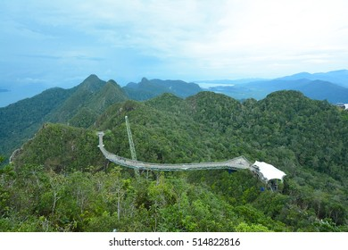 Langkawi Sky Bridge, Malaysia. Langkawi Sky Bridge can be reached by first taking the Cable Car to the top station where an inclined lift called SkyGlide takes visitors from the top to the bridge