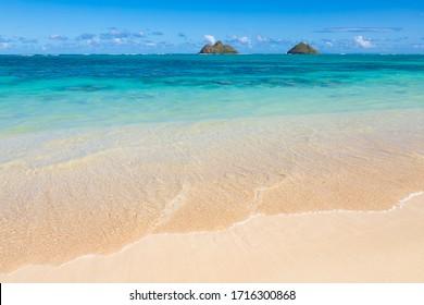 Lanikai Beach in Kailua, Oahu, Hawaii