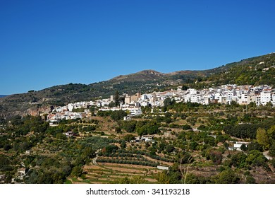 Lanjaron Town, Granada Province, Andalusia, Spain