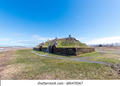 L'anse Aux Meadows Viking Village, National Historic Site, Newfoundland