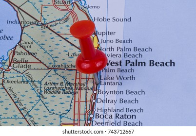 Deerfield Florida Map.Palm Beach County Map Images Stock Photos Vectors Shutterstock