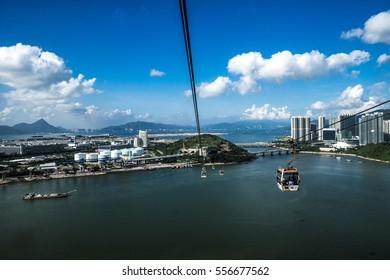 Lantau Island cable cars