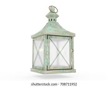 Lantern, 3D model