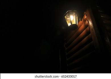 Lantern among of darkness