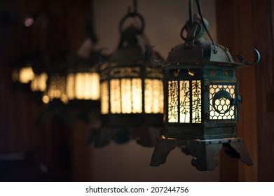 Lantern angle at Kasuga-taisha