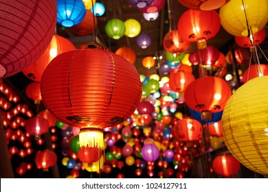 the lantern of Chinese for  the festival and Chinese new year