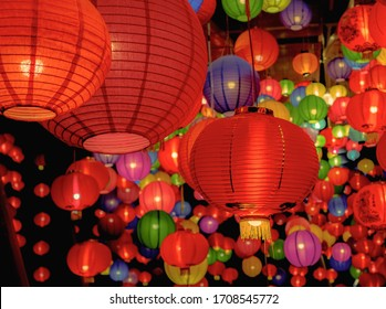 Lantern of festival for the Chinese new year