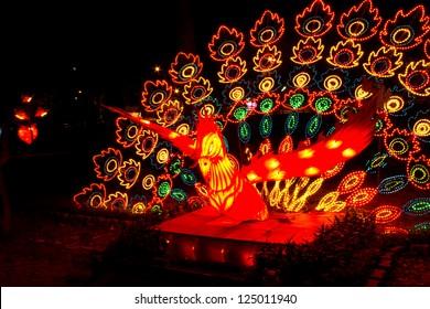 Lantern Festival in southern Thailand