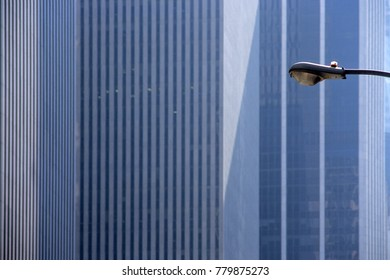 Lantern in front of Skyscraper - New York City