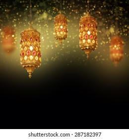 Lantern Ideal for Ramadan concept