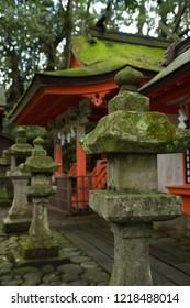 Lantern of Kumano Shrine in Highland