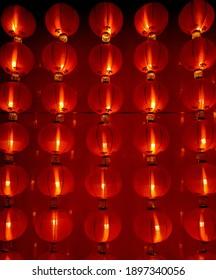 A Lantern to prepare on chinese new year celebration season
