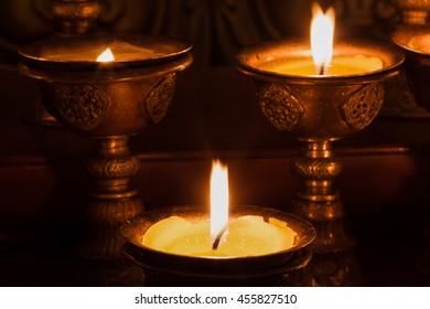 lantern signal for Buddhist.
