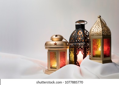 Lanterns combined together for Ramadan and Eid