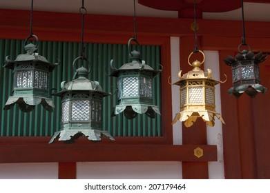 Lanterns at Kasuga-taisha