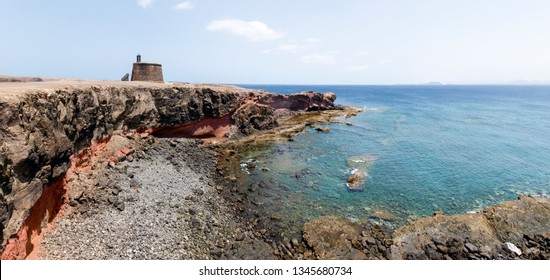 Lanzarote, Spain: Castillo de las Coloradas in Playa Blanca