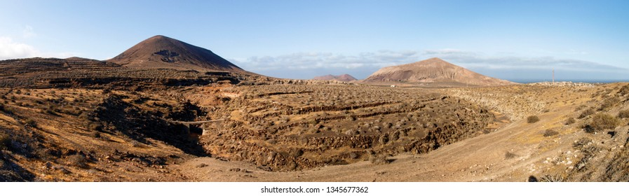 Lanzarote, Spain: Stratified City on desert