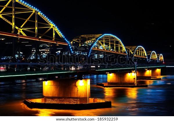 Lanzhou bridge, China 2011