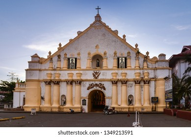 Laoag, Ilocos Norte/PH - Dec. 17, 2012: Saint Williams Cathedral, Laoag, Ilocos Norte, Philippines